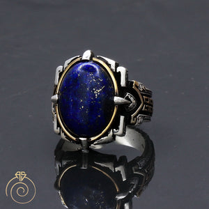 blue-gemstone-mens-silver-ring