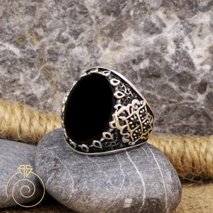 casual-stylish-antique-silver-ring