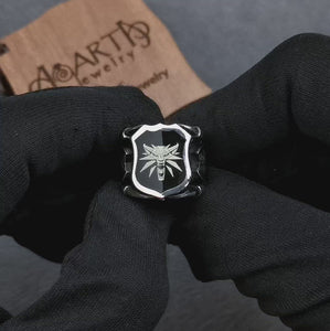witcher-geralt-sigil-men's-ring-video