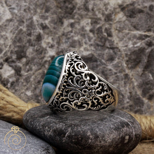engraved-floral-ancient-men-jewelry