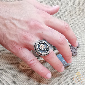 George Floyd Silver Memorial Limited Ring