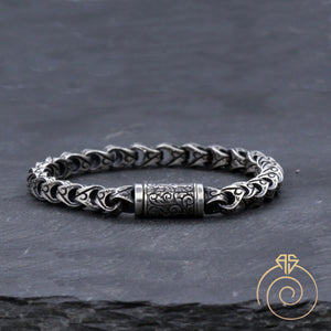 men's-silver-bracelet-unique-jewelry