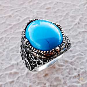 mens-turquoise-blue-gemstone-muslim-signet-rings