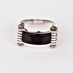 onyx-black-punk-bike-ring