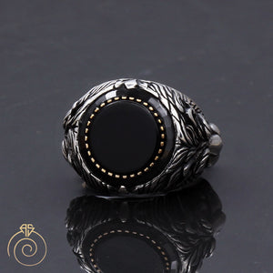 power-leadership-protector-silver-ring