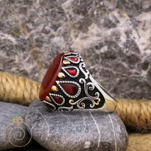 protection-traditional-silver-men's-ring