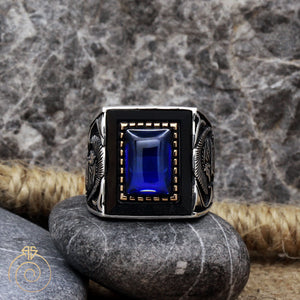 rectangle-carved-tribal-silver-ring