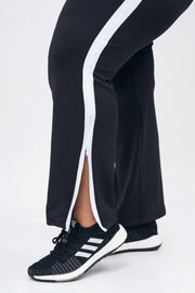 Girl on Track Pants: Black