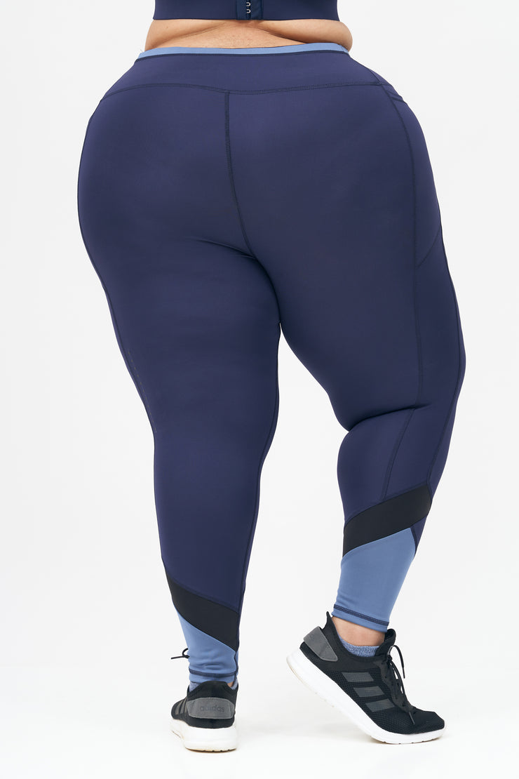 Go For It Leggings: Blue