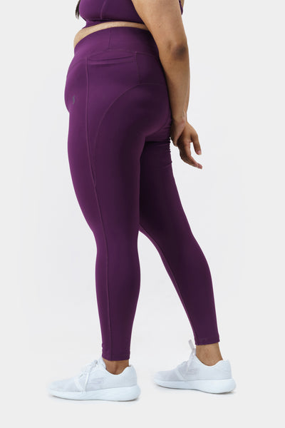 Effortless Leggings: Dark Purple