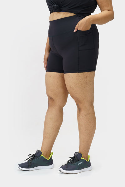 Hold Tight Biker Shorts: 4-inch inseam