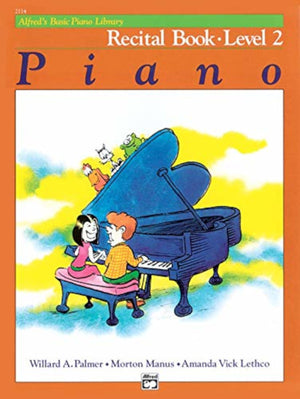 Alfred's Basic Piano Library: Level 2 Set of 4