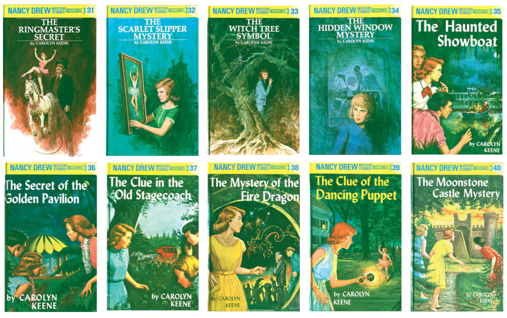 Nancy Drew Hardcover Set (Books 31-40)
