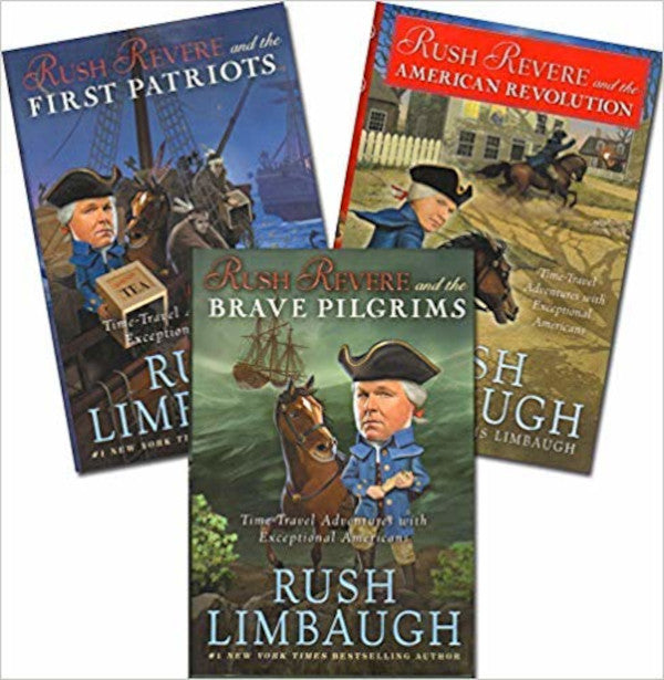 Rush Revere 3 Book Series Set by Rush Limbaugh