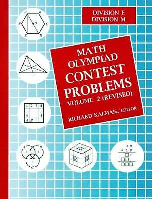 Math Olympiad Contest Problems Volume 2 edited by Richard Kalman.