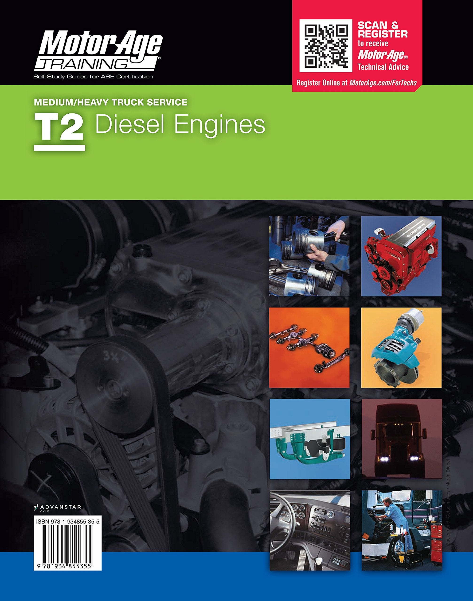 ASE Study Guides - T1-T8 T-Series Medium/Heavy Truck Service Certification Set