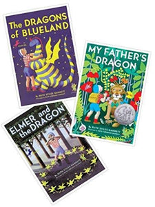 My Father's Dragon Series (Set of THREE Books: My Father's Dragon, Elmer and the Dragon, and the Dragons of Blueland) (My Father's Dragon) [Paperback] Ruth Stiles Gannett