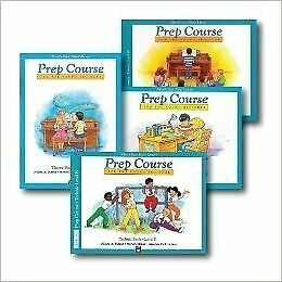 Alfred's Basic Piano Prep Course Level B - Four Book Set - Includes Lesson, Theory, Technic, and Notespeller books