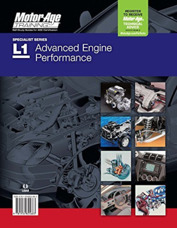 ASE Test Prep - L1 Advanced Engine Performance Certification Preparation by Motor Age Training