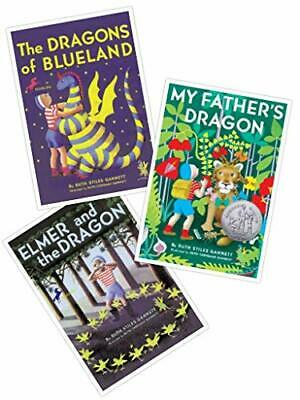 My Father's Dragon Series (Set of THREE Books: My Father's Dragon, Elmer and the Dragon, and the Dragons of Blueland) (My Father's Dragon)