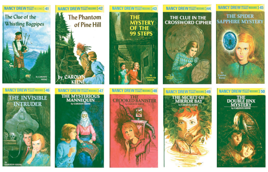 Nancy Drew Set (Books 41-50)
