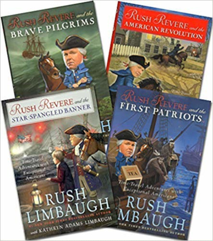 The Adventures of Rush Revere - 4 Book Set [Hardcover]