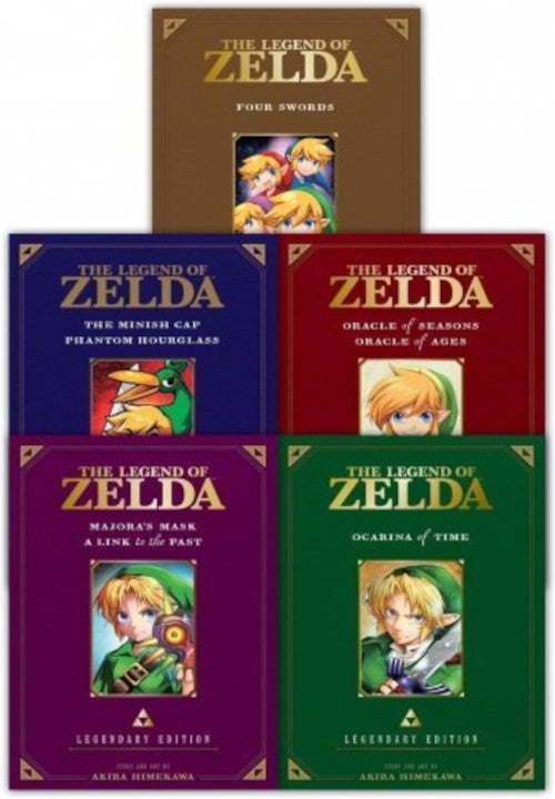 Zelda Legendary Edition Collection (5 Set)