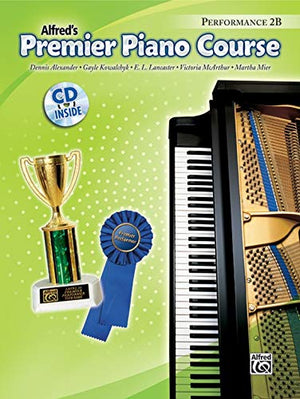 Alfred's Premier Piano Course Level 2B (4 set)