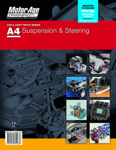 ASE Certification Test Prep - A4 Suspension & Steering Study Guide