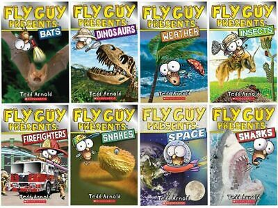 Fly Guy Presents 8 Pack Book Set