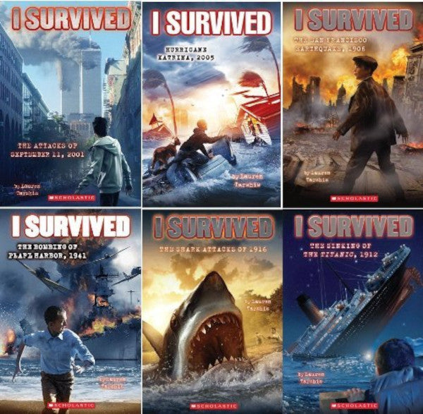 I Survived, Books 1-6