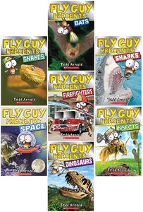 Fly Guy Presents Collection 7 Book Set [paperback] by Tedd Arnold