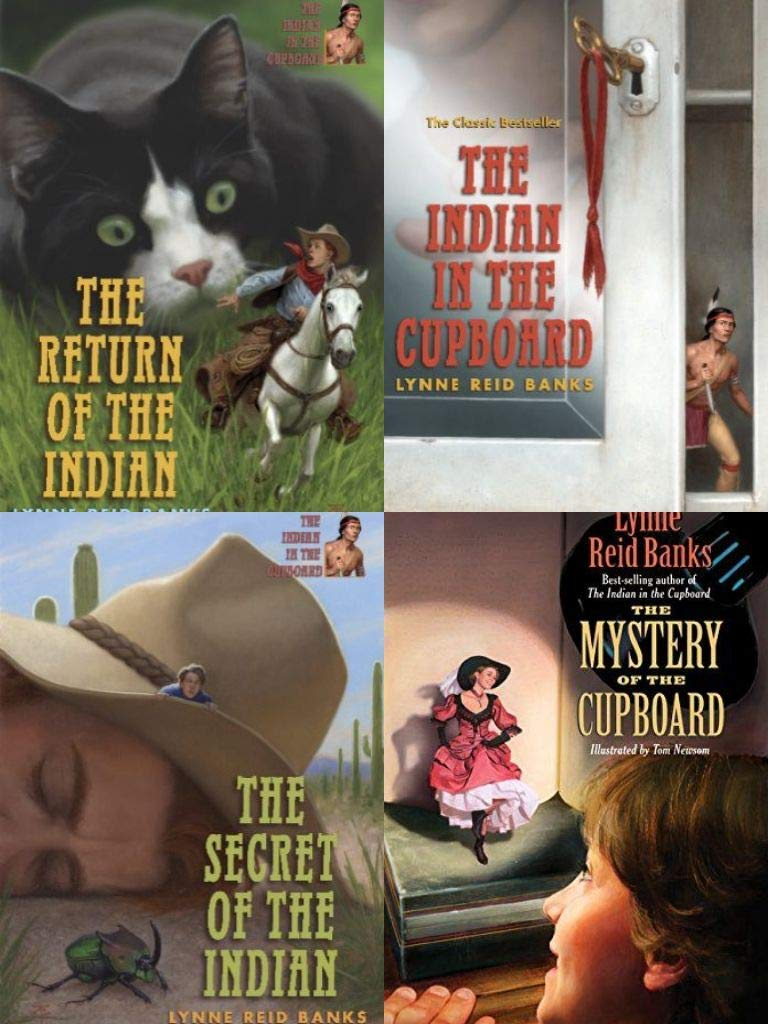 Lynne Reid Banks: Return of the Indian, Secret of the Indian, Mystery of the Cupboard, Indian in the Cupboard Banks, Lynne Reid