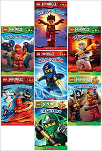 LEGO® Ninjago Reader Pack: 7 Book Set: #1: Way of the Ninja / #2: Masters of Spinjitzu / #3: The Golden Weapons / #4: Rise of the Snakes / #5: A Ninja's Path / #6 Pirates vs. Ninja / #7 The Green Ninja