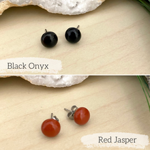 Load image into Gallery viewer, Gemstone Stud Earring Pack - Set of 2 for $25