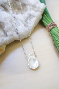 Single Keshi Pearl Necklace