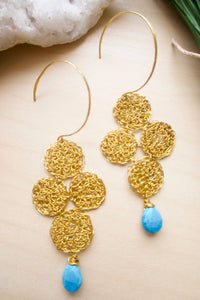 Wire Crochet Maya Earrings