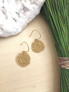 Wire Crochet Tina Earrings