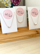 Load image into Gallery viewer, Pearl Cord Necklace
