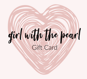 Girl with the Pearl Gift Card