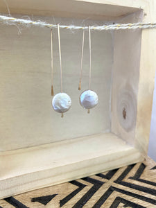 Coin Threader Earrings