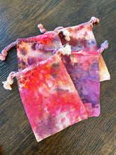 Load image into Gallery viewer, Hand Dyed Cotton Drawstring Gift Bags