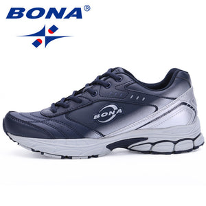 BONA New Style Men Running Shoes Typical Sport Shoes Outdoor Walking Shoes Men Sneakers Comfortable Women Sport Running Shoes