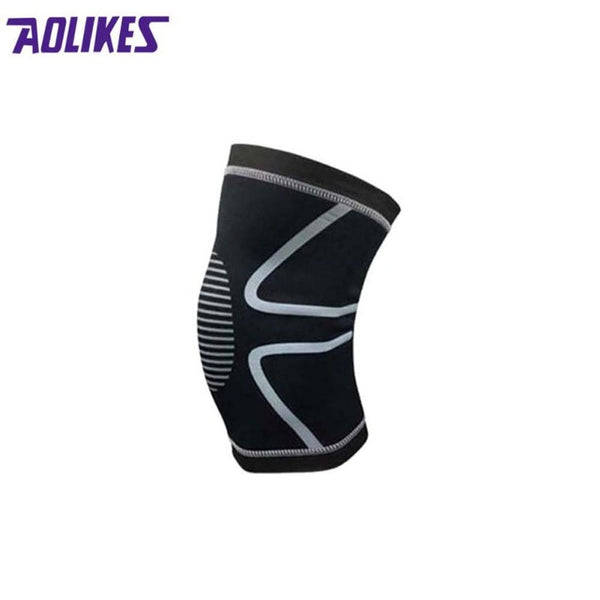 Knee Support Knee Pads Brace Kneepad Gym Weight lifting Knee Wraps Bandage Straps Guard Compression Knee Sleeve Brace 1PCS