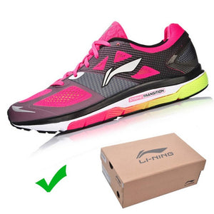 Li-Ning Men's Cushion Running Shoes Breathable Textile Sneakers Support TPU LiNing Sports Shoes ARHM057 XYP478