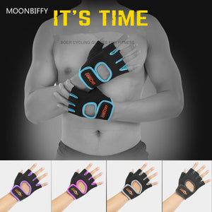 1 Pair Women/Men Anti-skid Weight Lifting Gloves Breathable Gym Glove Body Building Fitness Gloves Exercise Training Wrist Glove