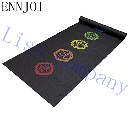 New Design 15MM Thickness Slim Printing Yoga Mat Non-slip Tasteless Thickening Exercise Pad Lose Weight Fitness Mat