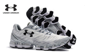 Under Armour Men's UA Scorpio Full Speed Cross-Country Running Shoes Male Light Unique Bottom Fitness Athletic Sneakers 40-45