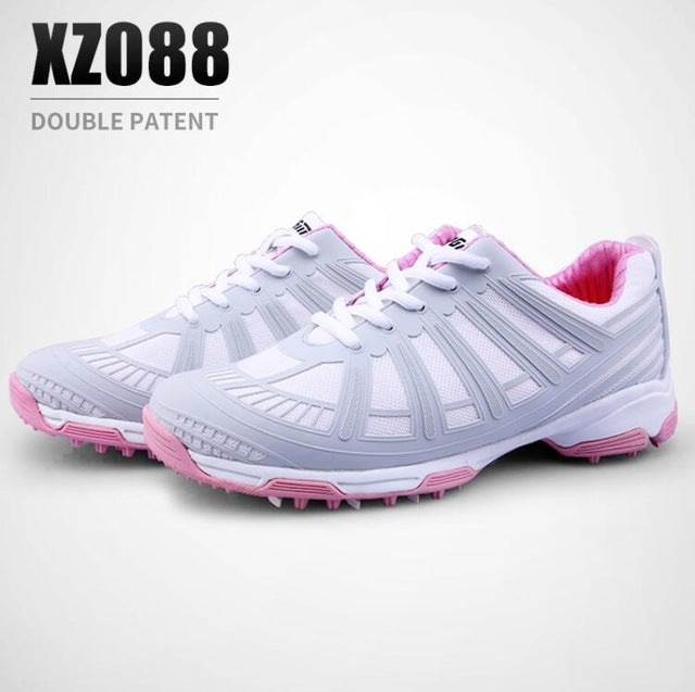 PGM Women Golf Shoes Brand Professional Golf Shoes For Female Lightweight Sneakers Lady Breathable Golf Shoes Outdoor Gym Wear