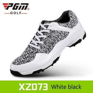 2018 new PGM Golf Shoes Mens Leather anti-skid breathable groove patent design sneakers freeshipping
